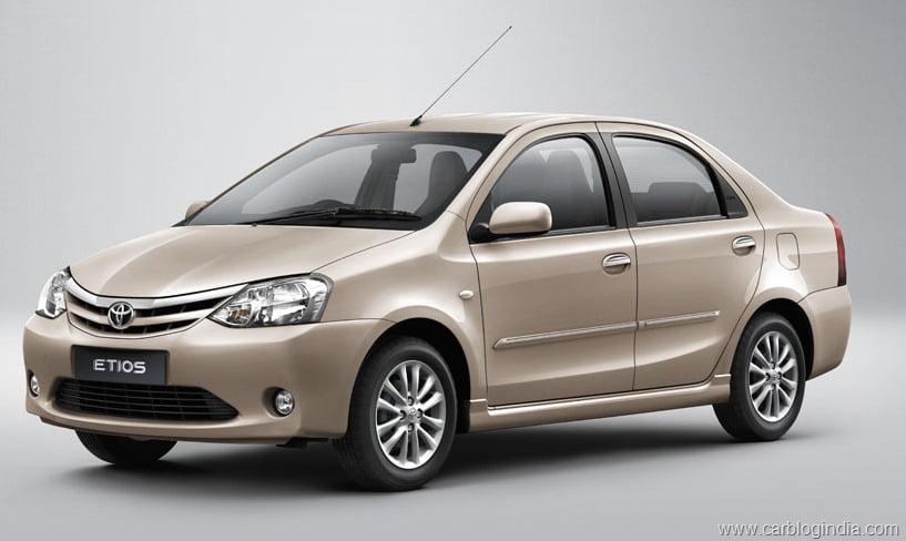 Toyota Etios Car Price In India