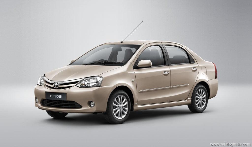 Toyota Etios Sedan Petrol Specifications Features