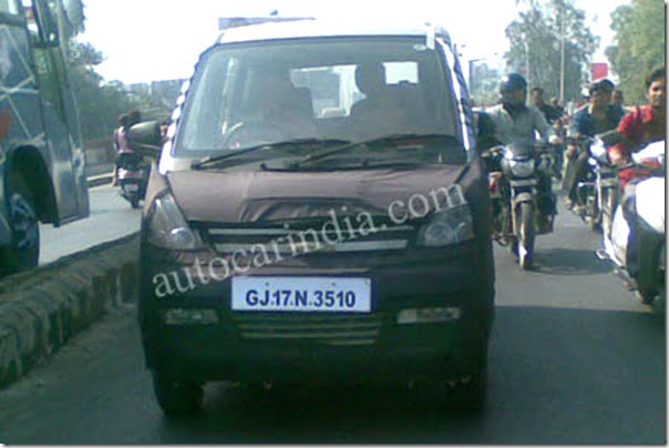 General Motors India – Chevrolet New MPV Spied Testing – Specifications & Price