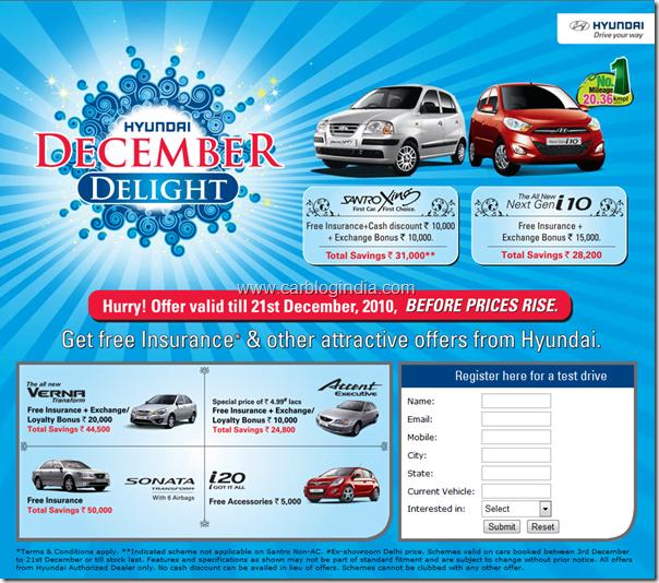 hyundai-december-discounts-2010-india