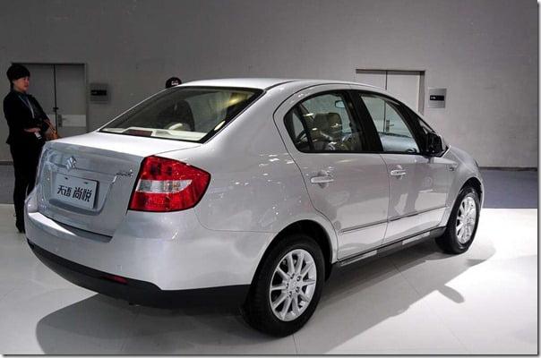 suzuki sx4 2011 rear
