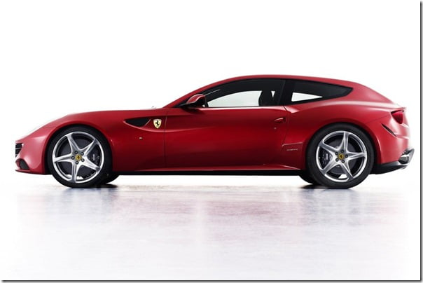 Ferrari FF Revolutionary Sports Car Official Pictures Detailed Specifications