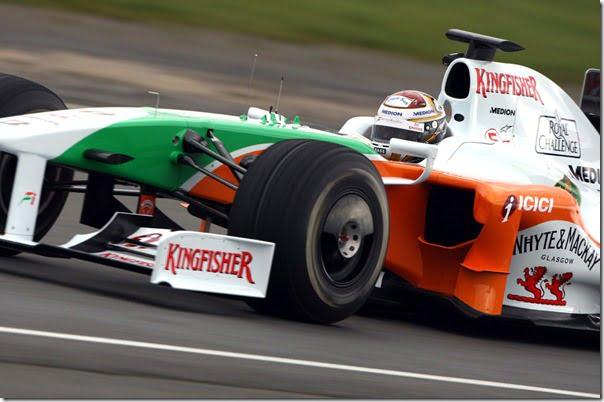 Force India F1 VJM02 Shakedown
