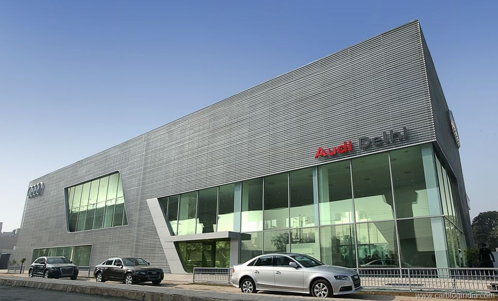 India S Largest Luxury Car Showroom Audi Delhi Mathura Road