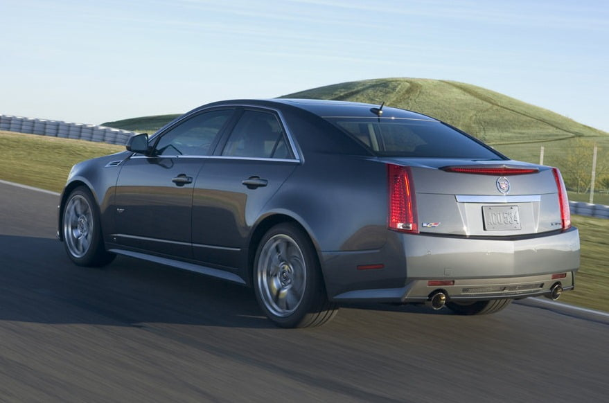 Cadillac Cts V Luxury Sedan India Launch In 2012 Specifications