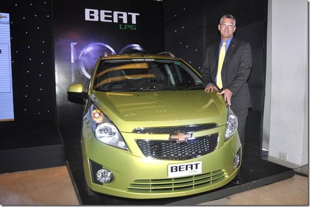 Chevrolet Beat LPG Launch