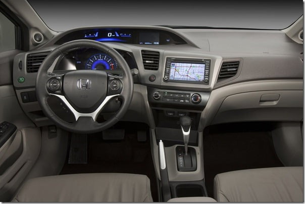 2012 Honda Civic Pictures Unveiled – Official Pictures, Specifications & Features