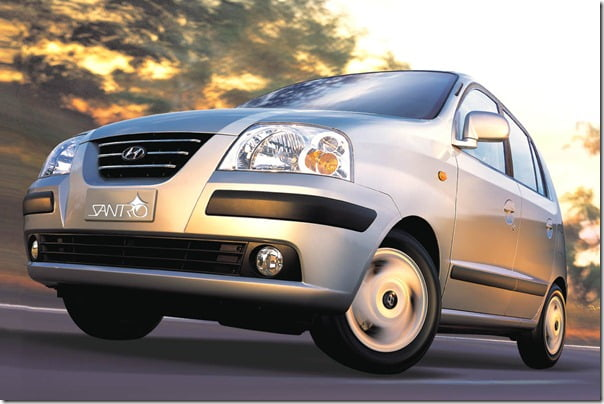 Hyundai Santro 5 Lakh Export