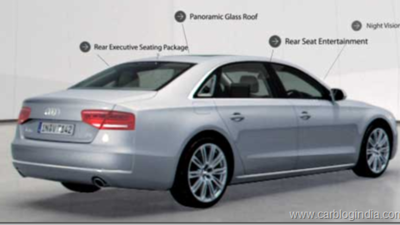 Audi A8 L Variant Launched By Audi India At Rs 89 Lakhs