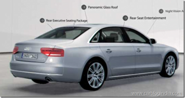 Audi A8 L Variant Launched By Audi India at Rs. 89 Lakhs