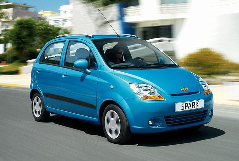 Chevrolet Spark Diesel Small Car In India