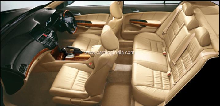 Honda Accord 2011 Interiors