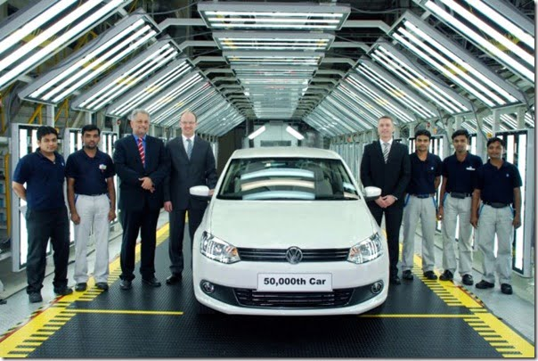 Volkswagen India Chakan Plant Clocks Out 50,000 Cars !
