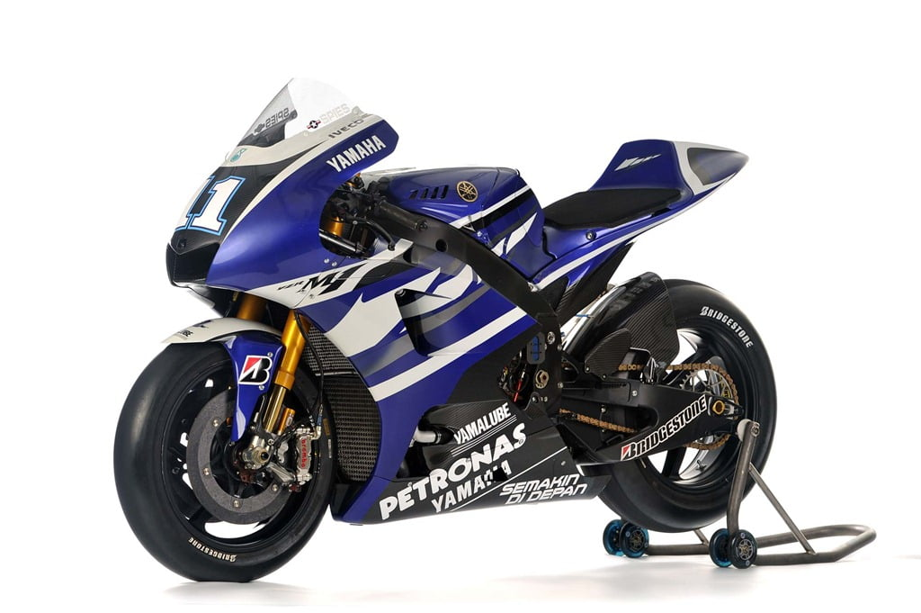 Official Pictures Specs Of 2012 Yamaha Yzr M1 Motogp Superbike