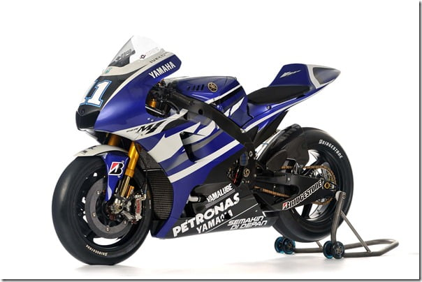 2012 Yamaha YZR-M1 MotoGP Superbike Unveiled–Pictures & Specifications
