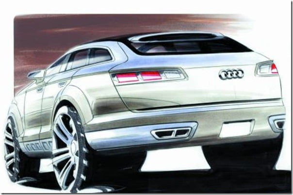 Audi Q6 SUV- BMW X6 Compeor Coming Soon