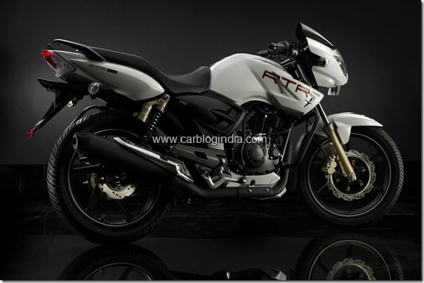TVS Apache RTR 180 With ABS Price Details