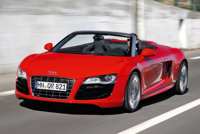 Audi R Spyder Convertible Supercar India Launch Details - Audi car r8 price in india