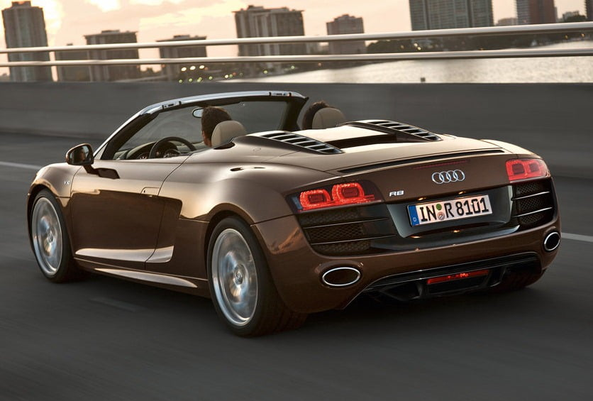 Audi R Spyder Convertible Supercar India Launch Details - Audi car details and price
