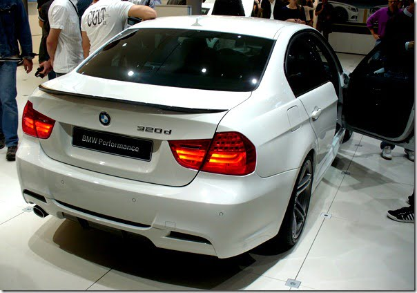 BMW_E90_320d_Performance_Heck