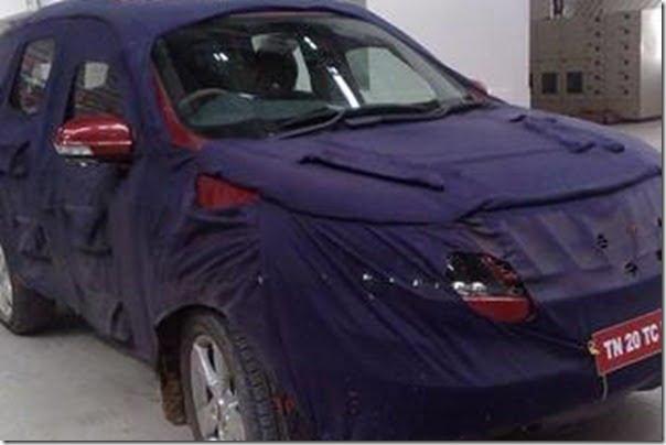 Mahindra-SUV-spy-pictures