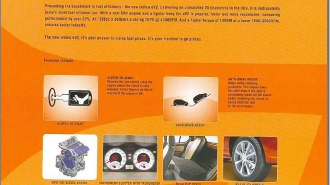 New Tata Indica eV2 2011 Model With 25 KMPL Mileage