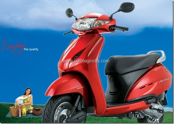 Honda Activa Scooter To Be Manufatured at HMSI Plant in Karnataka