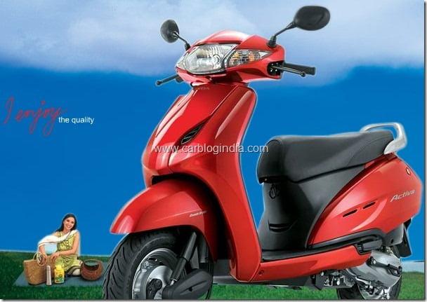 Honda Activa Scooter To Be Manufatured at HMSI Plant in Karnataka