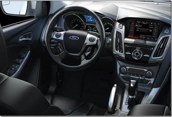 2012 Ford Focus interiror