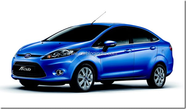 All New Ford Fiesta-BlueCar