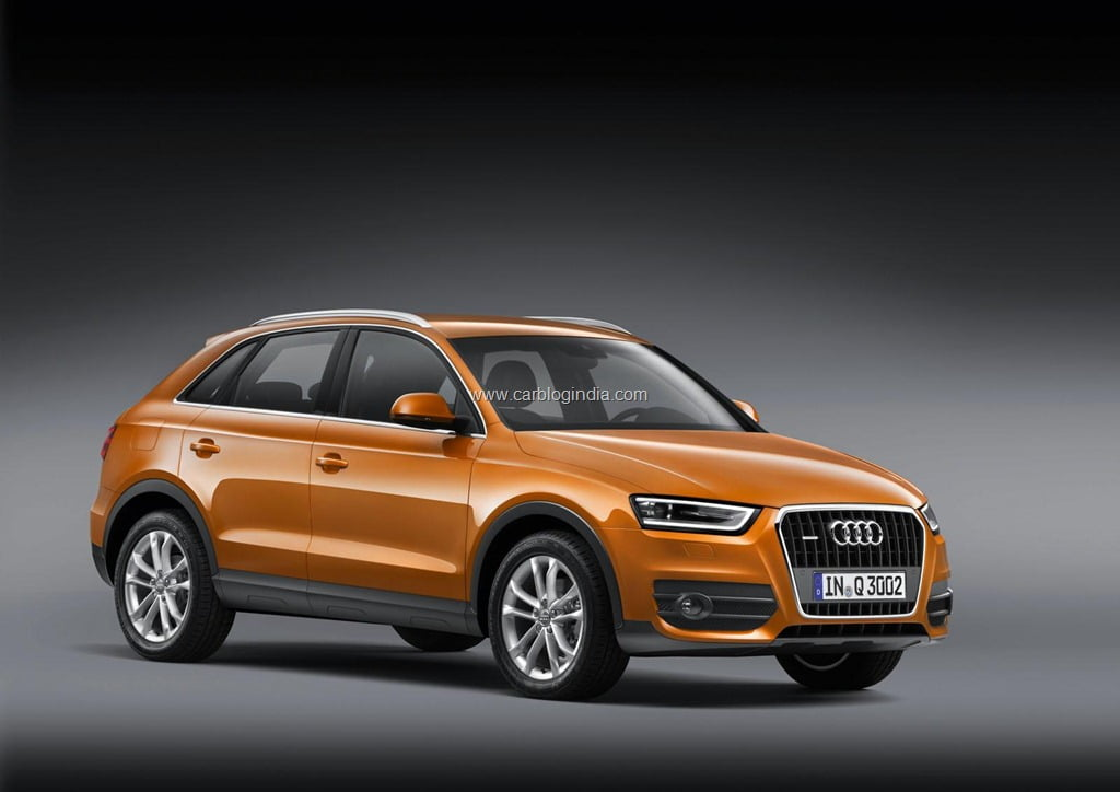 audi q3 officially revealed pictures specifications features video price and details. Black Bedroom Furniture Sets. Home Design Ideas