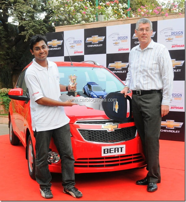 Chevrolet India Design Contest Winner