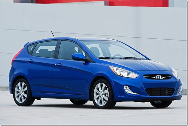2012 Hyundai Accent Hatchback for USA Unveiled At New York Auto Show 2011