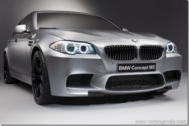 BMW M5 Super Sedan Launch In 2011– Video and Pictures