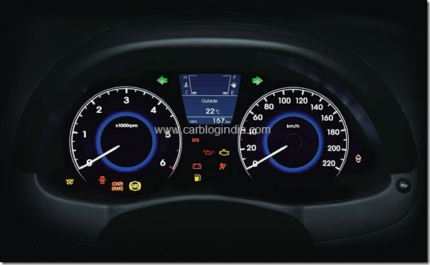 Hyundai Verna Rb 2011 Interiors and features (3)