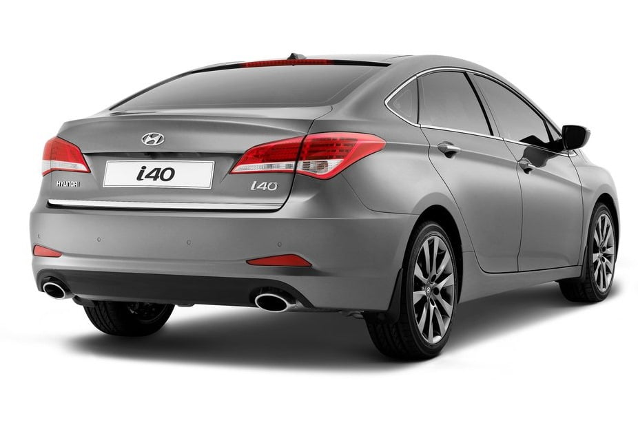 Hyundai i40 Sedan Official Details and Real Pictures
