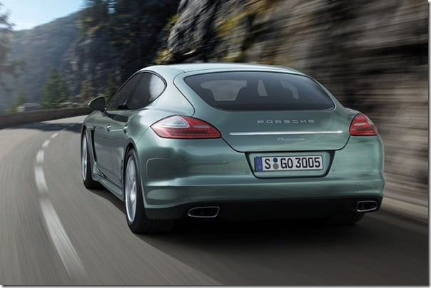 Porsche Panamera Diesel Luxury Sedan India Details