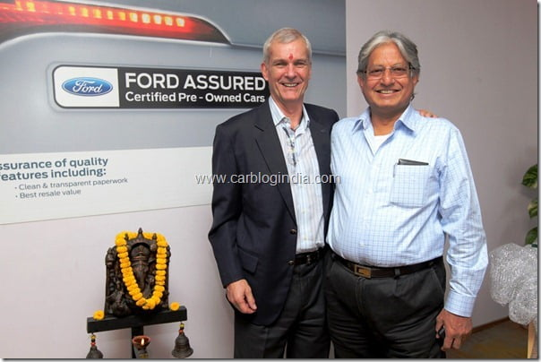 Ford Assured- Ford India Opens Multi-Branded Used Car Business In 5 States Of India