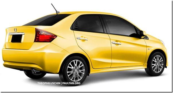 Honda Brio Sedan India Launch In 2013 Expected– Will Compete With Toyota Etios & Swift Dzire