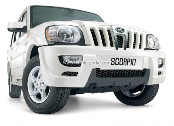 mahindra scorpio ex low cost suv price specifications india. Black Bedroom Furniture Sets. Home Design Ideas