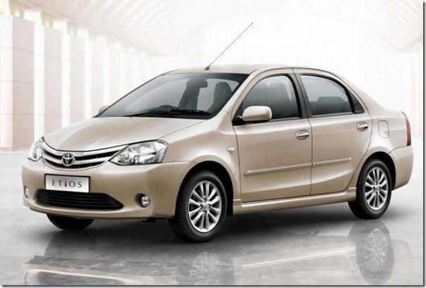 Toyota Etios Diesel Sedan & Liva Diesel Hatchback Variants India Launch Expected Before Early 2012