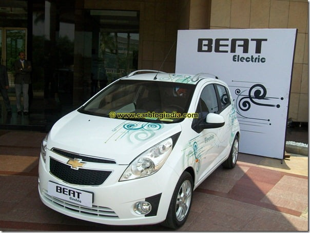 Chevrolet Beat Electric Car India (13)