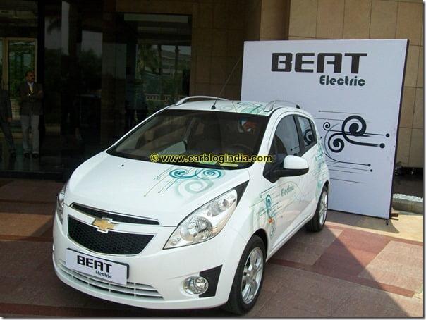 Chevrolet Beat Electric Car India (13)