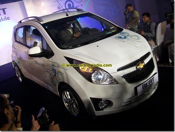 Chevrolet Beat Electric Car India (2)