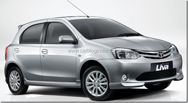 Toyota Etios Liva Launched In India- Official Price Rs. 3.99 Lakhs, Details, Specifications, Features