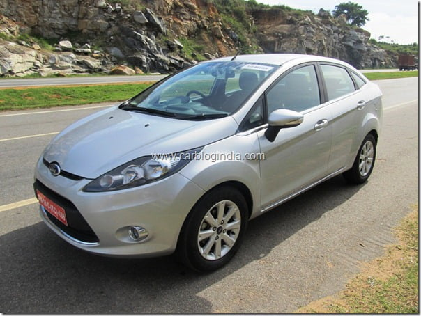 Ford Fiesta 2012 Line-up Starts At Rs. 7.23 Lakhs