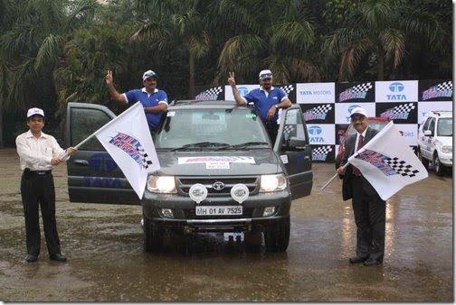 Tata Motors Full Throttle Team Wins 2011 Dakshin Dare Rally