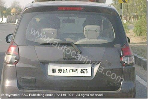 Maruti R3 MPV Spy images (2)