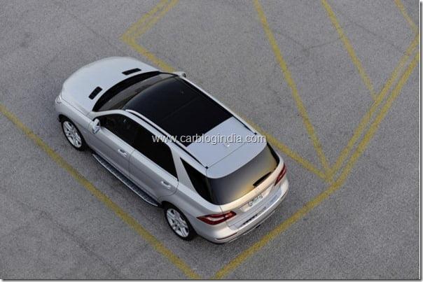 Mercedes Benz M Class 2012 Facelift (2)