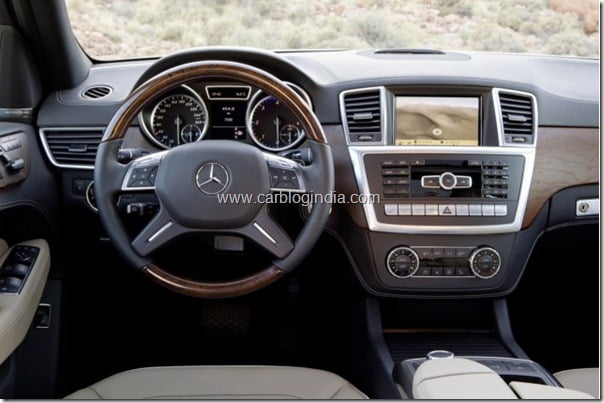 Mercedes Benz M Class 2012 Facelift (7)